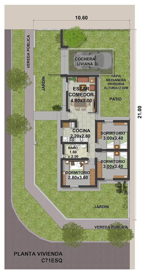 VIVIENDA C ESQUINA 3DORMIT-11-2020