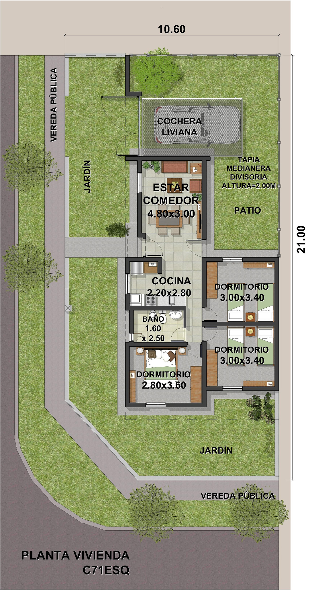 Economica-esquina-3dormitorios